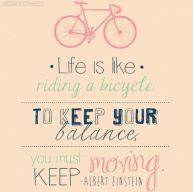 Life is bicycle